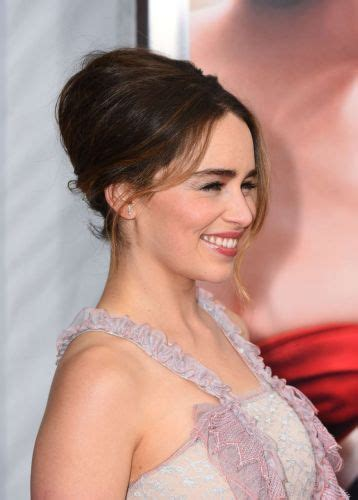 medium length hairstyles for maid of honor 5 emilia clarke updo hair steal the throne with these