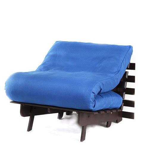 blue futon mattress arra single futon base with mattress jute best price in