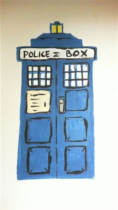 tardis painting wip by of a beech on deviantart