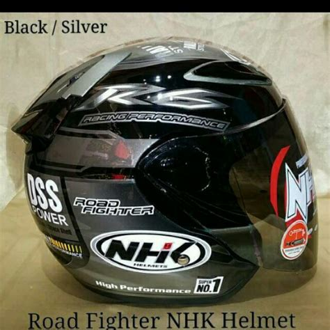 Helm Nhk Road Fighter nhk road fighter helmet car accessories on carousell