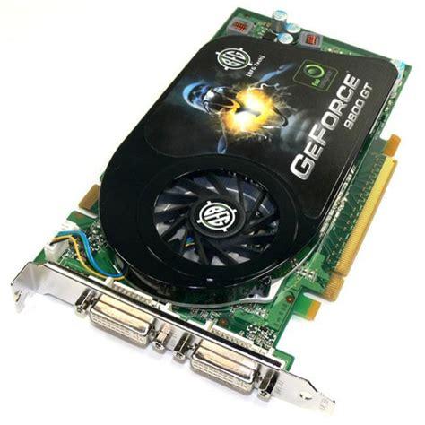 Vga Card Geforce 9800 Gt vgastore bfg bfge981024gtge geforce 9800 gt 1gb 256 bit gddr3 pci express 2 0 x16 hdcp