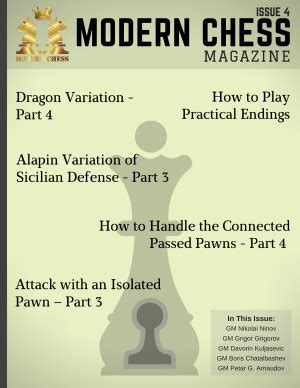 dismantling the sicilian a complete modern repertoire for white books modern chess magazine 2016 issue 04