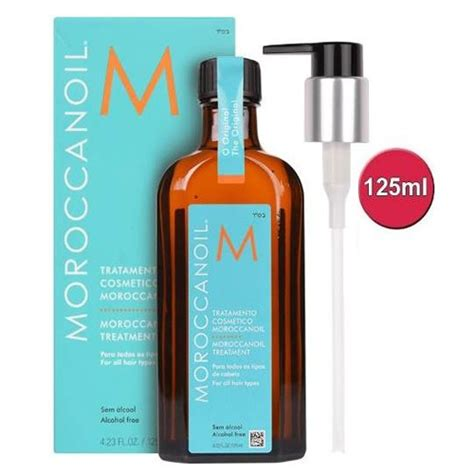 moroccanoil moroccan oil treatment for all hair types moroccanoil treatment 125ml quartz hair and beauty