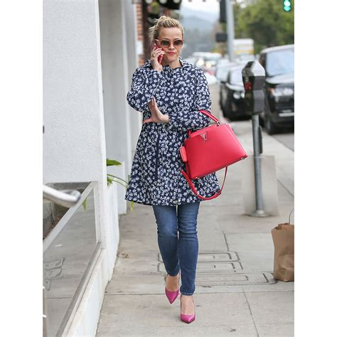 Reese Witherspoons New Look by Look For Less Reese Witherspoon Brightens Up