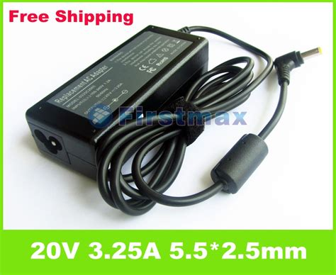 Charger Laptop Lenovo Ideapad 20v 3 25a 65w ac adapter laptop charger for lenovo ideapad g575 g580 g770 g780 n580 n581 n585