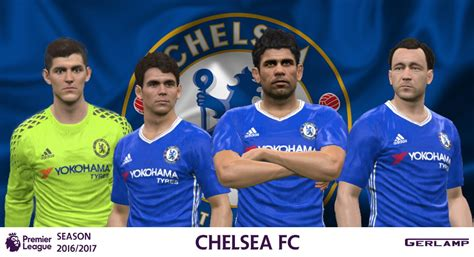 chelsea fc 2017 pes 2016 chelsea 2016 17 adizero kits by gerl pes patch