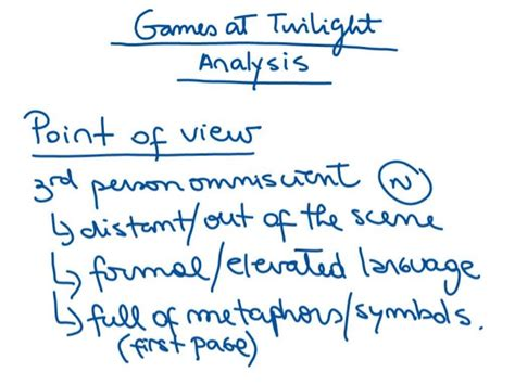themes in games at twilight by anita desai analysis of quot games at twilight quot by anita desai 2