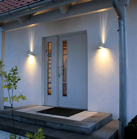 Exterior Spectacular Modern Outdoor Lighting With Front Door Wall Lights