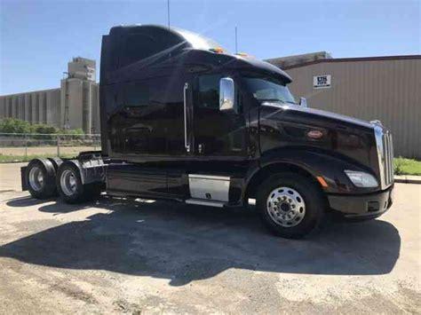 peterbilt 587 2012 sleeper semi trucks