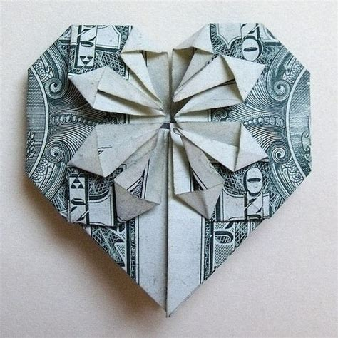 Shaped Dollar Bill Origami - decorative money origami 183 an origami shape