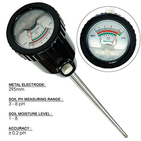 Soil Ph Moisture Meter soil ph moisture meter 295mm electrode import it all