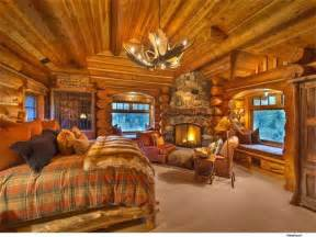 Cabin Bedroom Ideas Log Cabins Master Bedroom Ideas De Inspiraci 243 N Fireplaces Decks And Rustic Bedrooms
