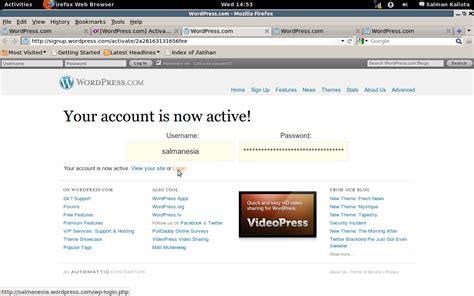 membuat blog sekolah dengan wordpress blogging dengan wp com part 1 membuat blog baru