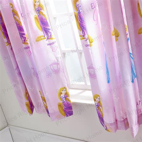 disney princess drapes official disney princess sparkle 72 quot drop curtains new