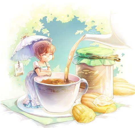 Milk Cup Anime milk tea jam by mushstone on deviantart