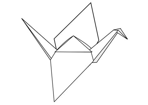Dessin Oiseau Origami by Coloriage Origami Img 22955