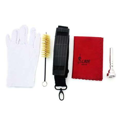 brilliant lade buy lade bb silver trumpet brass band with gloves brush