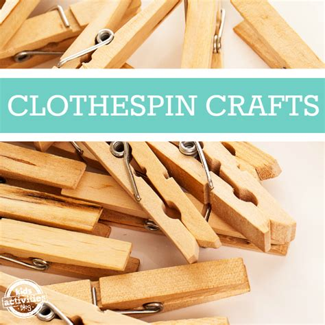 clothespin crafts 50 creative clothespin crafts