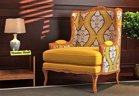 wing chair buy wing chairs   india  lowest price