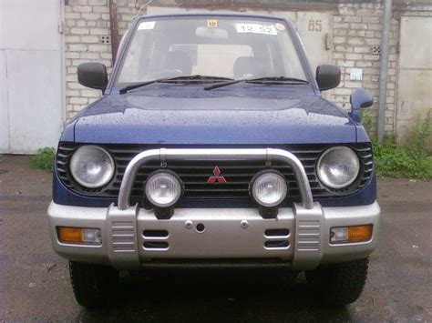 mitsubishi mini 1998 mitsubishi pajero mini automatic related infomation