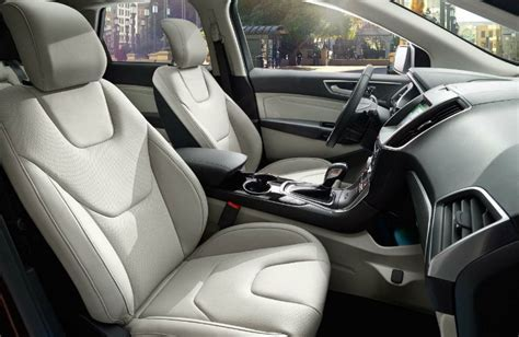 2017 Ford Edge options and packages