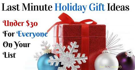 christmas gifts for 30 dollars last minute gift ideas 30 00 healyounaturally