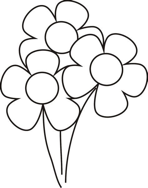 imagenes de flores bonitas para colorear imagenes de flores para colorear miexsistir