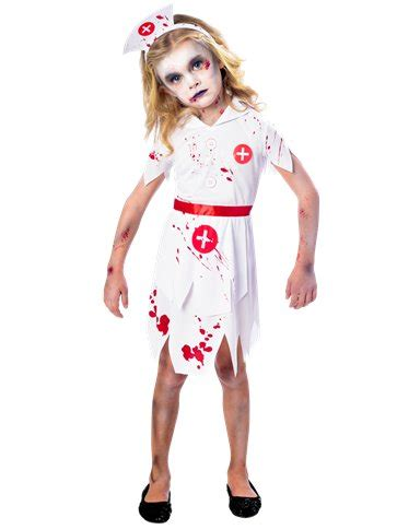 zombie nurse girl child costume party delights