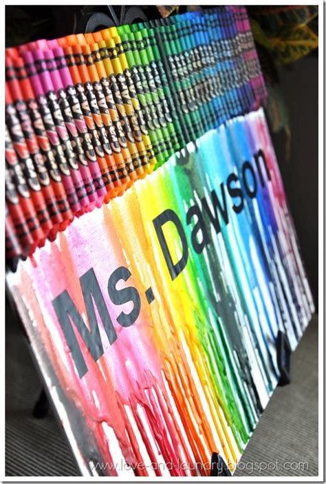 homemade teacher gift how to make a crayon monogram 101 best images about crayon art on pinterest pictures
