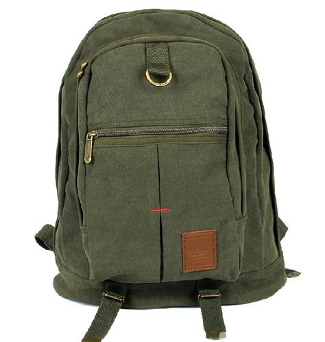 rucksack backpack canvas backpack travel rucksack yepbag
