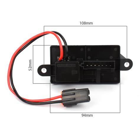 how does a car heater resistor work heater blower motor resistor for cadillac gmc chevrolet 89019089 new arrival
