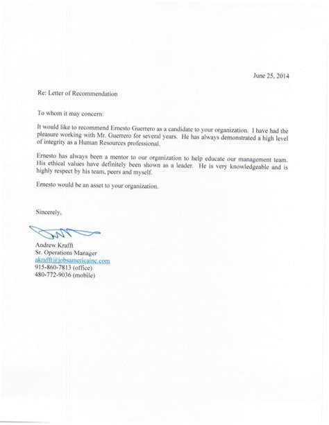 professional reference professional reference letter andrew krafft