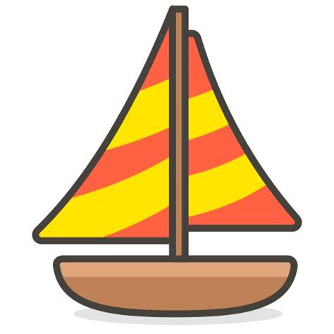 varen zeilboot boot pictogram gratis van another emoji - Zeilboot Emoji