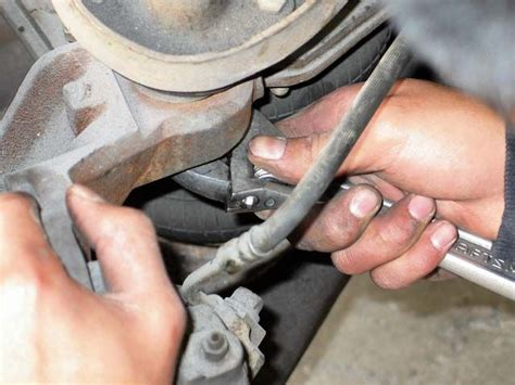 how to remove brake lines on a 1996 plymouth voyager ssbc disc brake upgrade truckin magazine photo image gallery