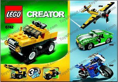 lego mini jeep lego 6742 mini jeep set parts inventory and