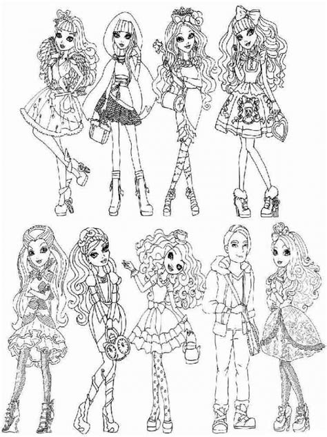 ever after high coloring pages rebels ever after high rebels coloring pages coloring pages