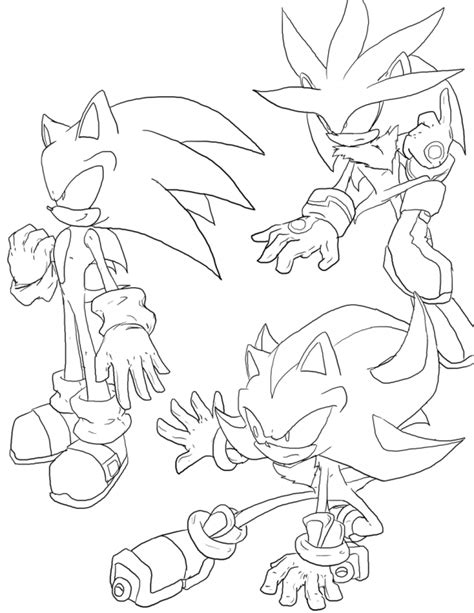 shadow the hedgehog coloring pages for kids az coloring