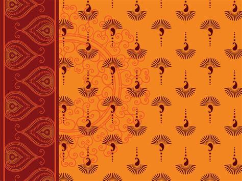 wallpaper design online india india ham pattern vector background free vector 4vector