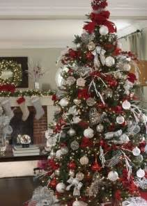 Red and silver christmas decorating ideas designcorner