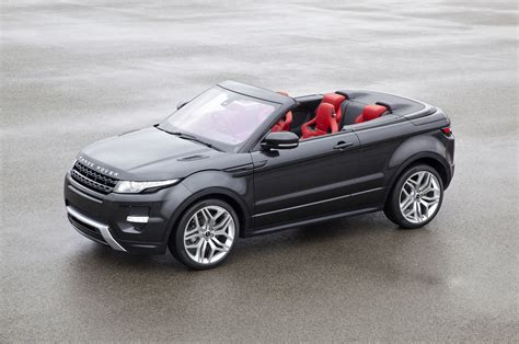 evoque land rover convertible range rover evoque convertible announced