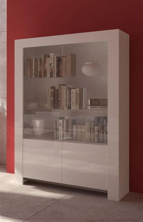 mobili vetrine vetrine moderne basic vetrina ante bianco vetrine vendita