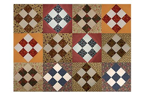 quilt pattern nine patch block easy country nine patch scrap quilt block pattern