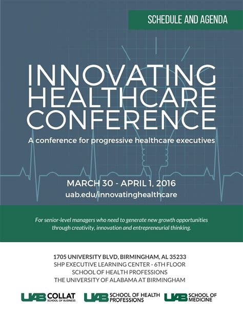 Uab Mba Application by Innovating Healthcare Conference By Uab Collat School Of