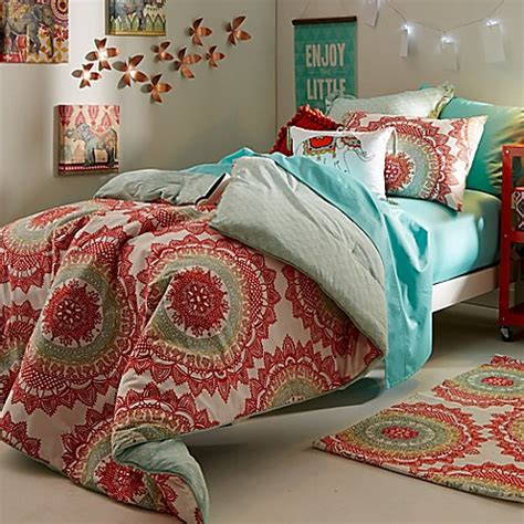 bungalow comforter bold free spirited anthology bungalow bed bath beyond