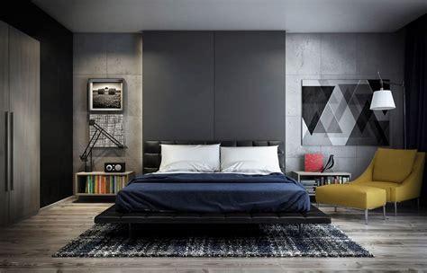 habitaciones modernas  decoracion  colores