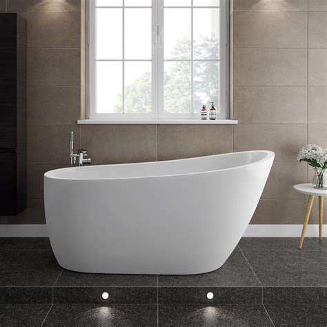 small freestanding bathtubs turin 1520 modern slipper free standing bath at