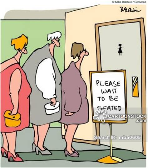 cartoon picture of bathroom women s bathroom cartoons and comics funny pictures from cartoonstock