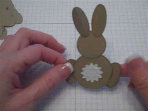 pattern making rabbit punch stin up punch bunny youtube