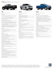 F150 Specs 2013 Ford F150 Specs