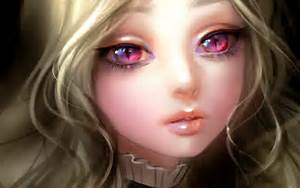 картинки девушки аниме брюнетки